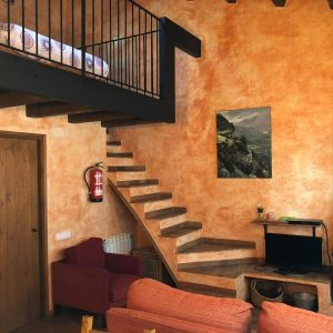 Stair apartment Ponent