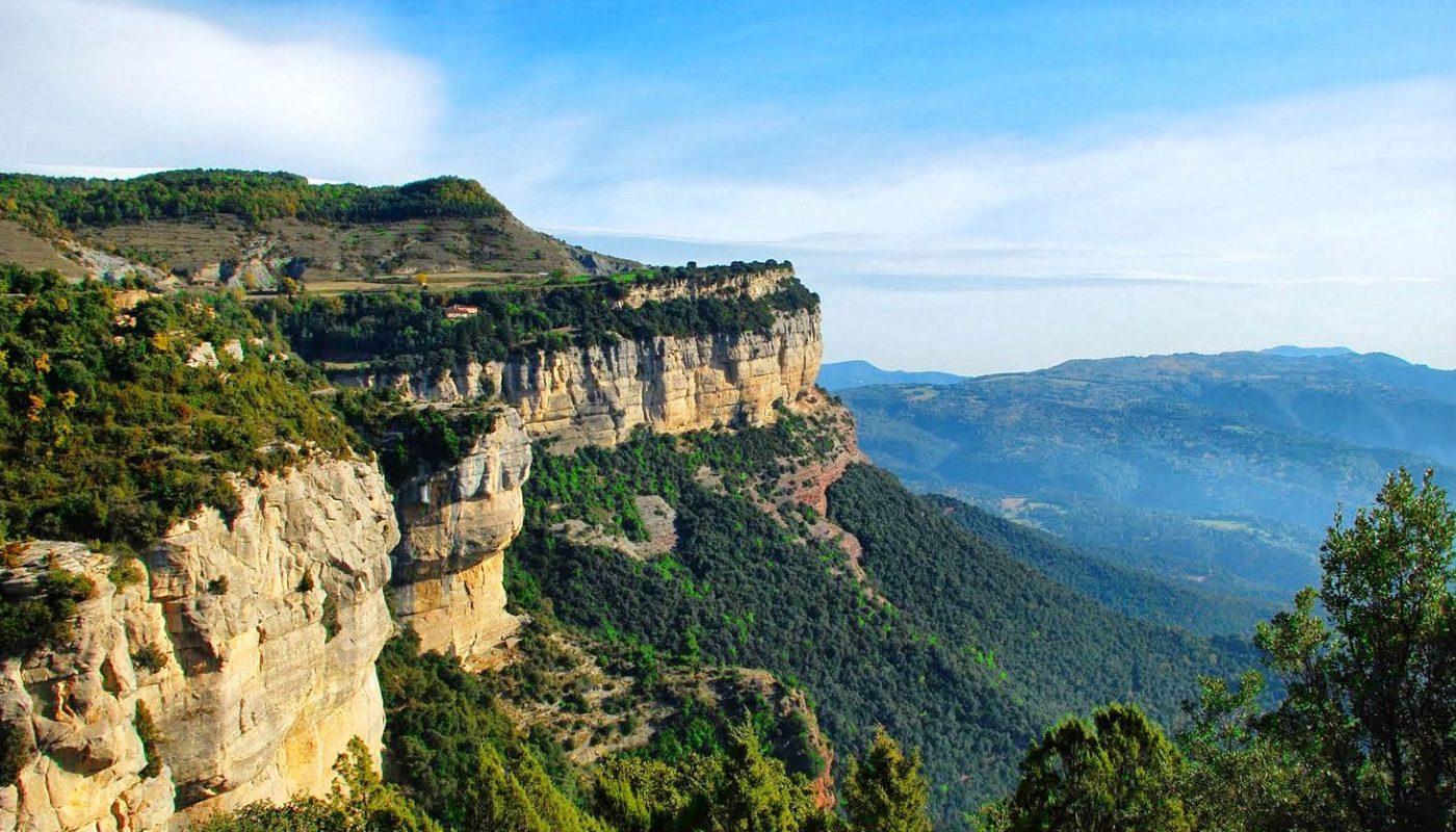 Full of wonderful landscapes and impressive crags